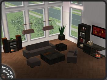 sims 2 living room set repair