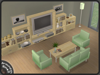 Around The Sims 2 Objects Living Room Modern Line Part 54